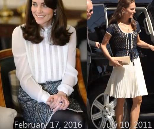 Kate Middleton: i look più fashion della Duchessa FOTO