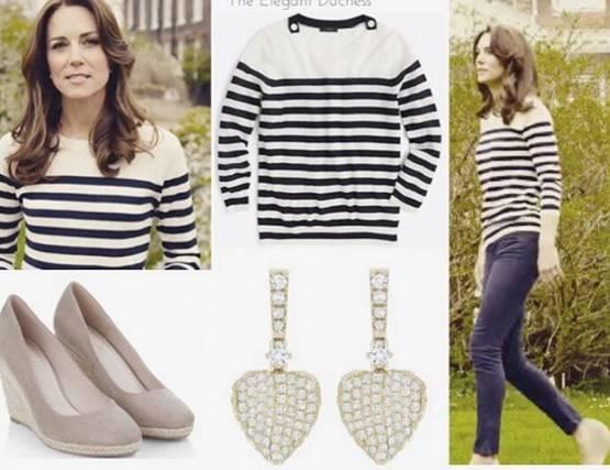 Kate Middleton | Maglione J.Crew