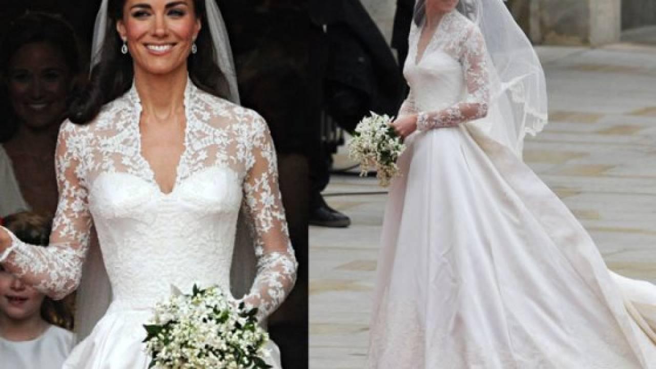 Vestiti Da Sposa Kate Middleton.Foto Kate Middleton Vestito Da Sposa Il Segreto