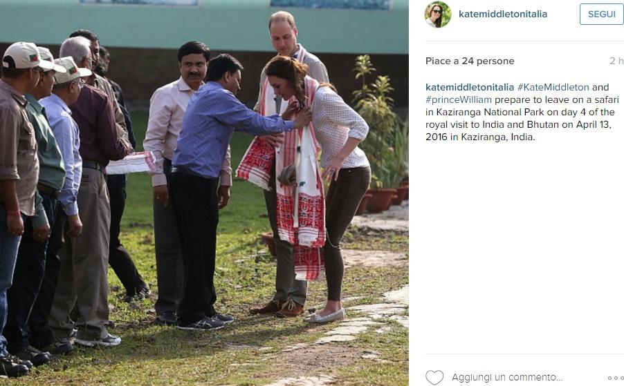 Kate Middleton, look Safari: skinny Zara e mocassini FOTO