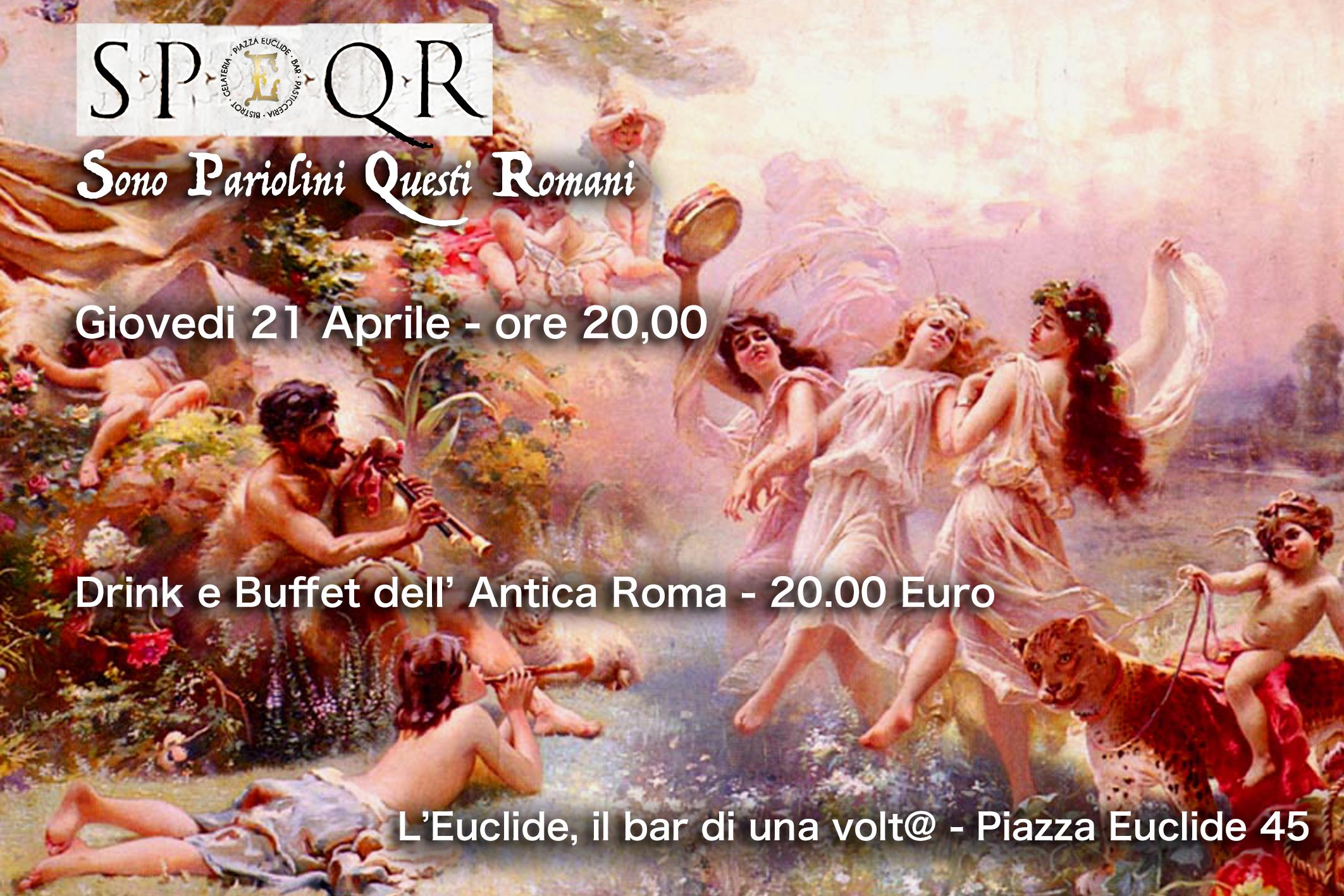 """Natale di Roma: """"#SPQR. Sono Pariolini questi Romani"""""""