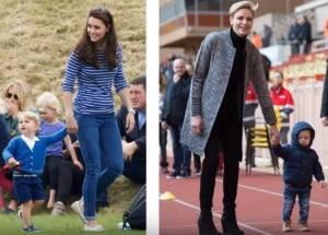 Kate Middleton, Charlene di Monaco: sfida a colpi di look FOTO