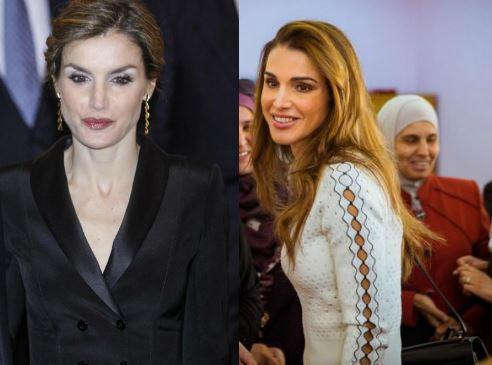 Rania di Giordania e Letizia Ortiz: outfit a confronto FOTO