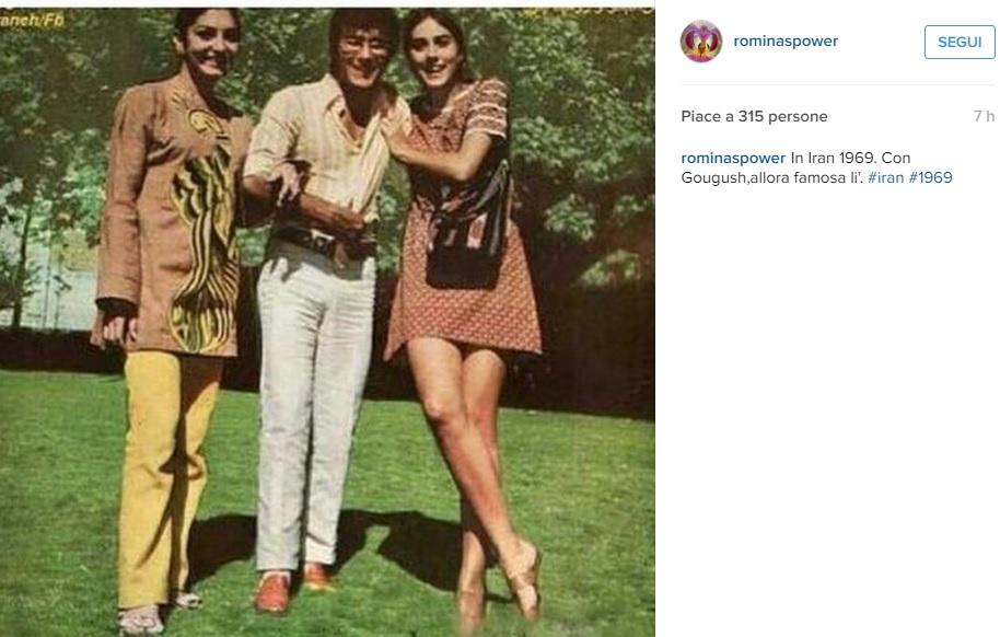 Romina Power e Al Bano in Iran nel 1969. Lei indossa...FOTO