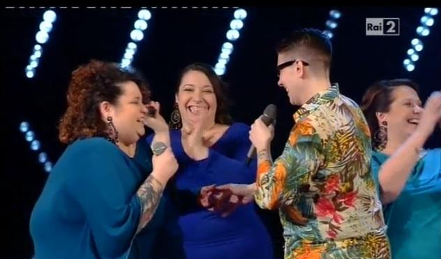 The Voice of Italy, proposta di matrimonio gay per Sara