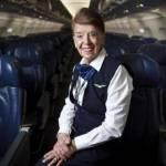 Bette Burke-Nash ha 80 anni: da 58 fa la hostess2
