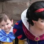 Bimbo autistico incontra Biancaneve
