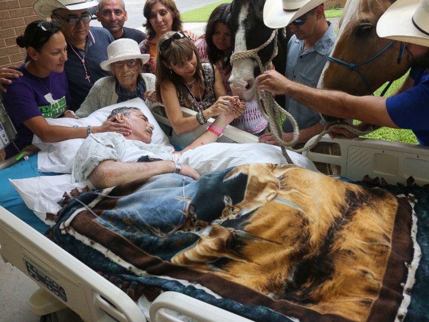 Ex veterano Vietnam, ultimo saluto ai suoi cavalli 5