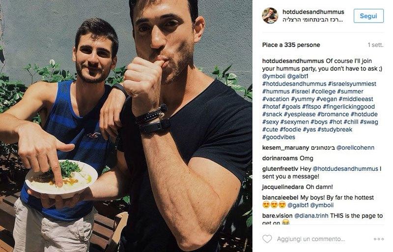 Ragazzi mangiano hummus FOTO (7)