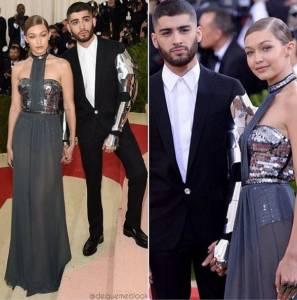 Zayn Malik e Gigi Hadid al Met Gala 2016 FOTO