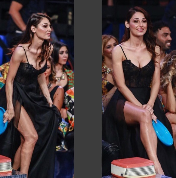 "Anna Tatangelo, spacchi audaci in TV: ""Bella ma volgare"" FOTO"