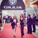 Belen Rodriguez: abito nero trasparente alla Bocelli-Zanetti night 1