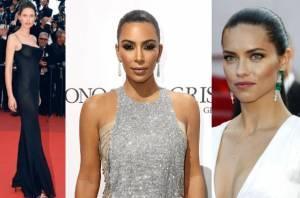 Bianca Balti, Kim Kardashian, Adriana Lima a Cannes FOTO
