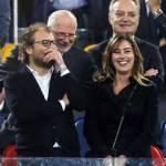 Maria Elena Boschi allo stadio con Luca Lotti FOTO 5