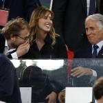 Maria Elena Boschi allo stadio con Luca Lotti FOTO 8
