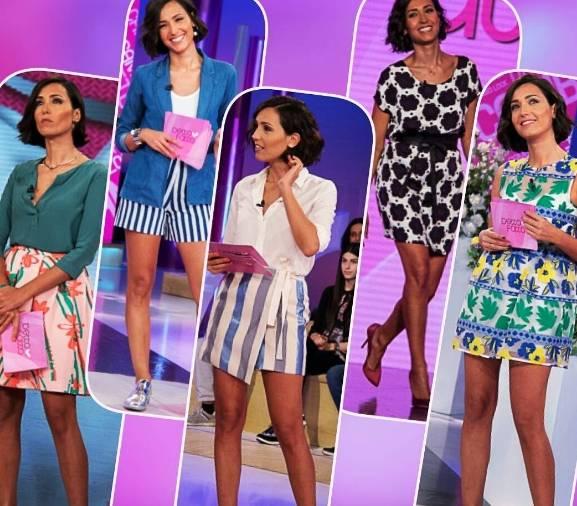 Caterina Balivo: vestitini corti e gambe in vista FOTO