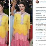 Charlotte Casiraghi: abito multicolor a balze al Met Gala FOTO