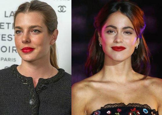 Charlotte Casiraghi, Martina Stoessel: rossetto rosso impeccabile