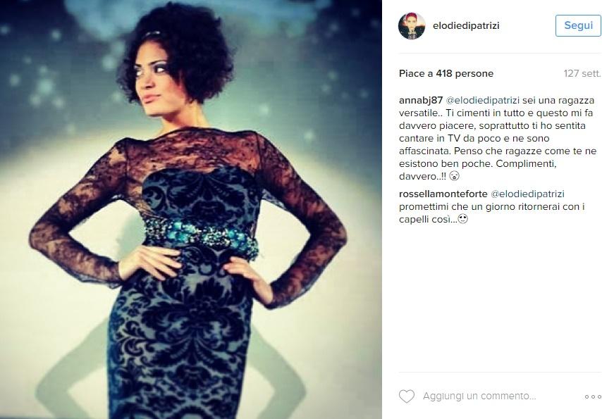 Elodie Di Patrizi com'era prima dei capelli rosa: FOTO