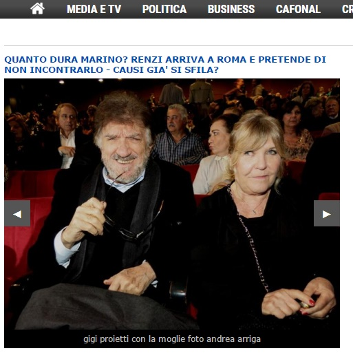 Gigi Proietti, chi è la moglie Sagitta Alter FOTO