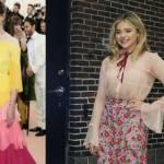 Charlotte Casiraghi, Chloe Grace Moretz: look Gucci a confronto