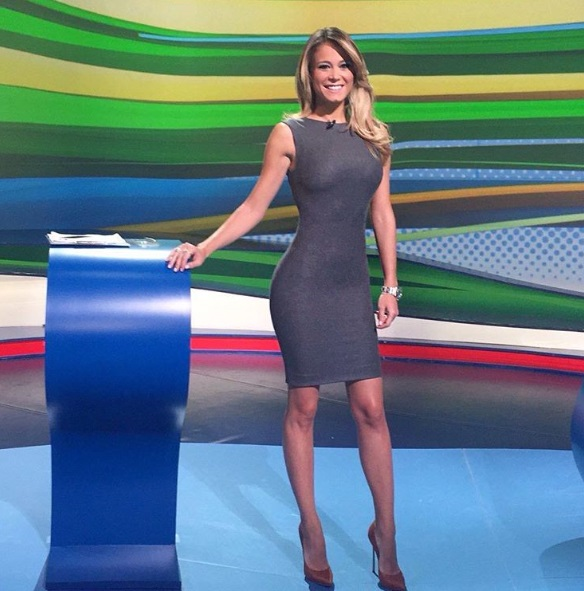Diletta Leotta, Ilaria D'Amico: sfida su Sky a Euro2016 FOTO