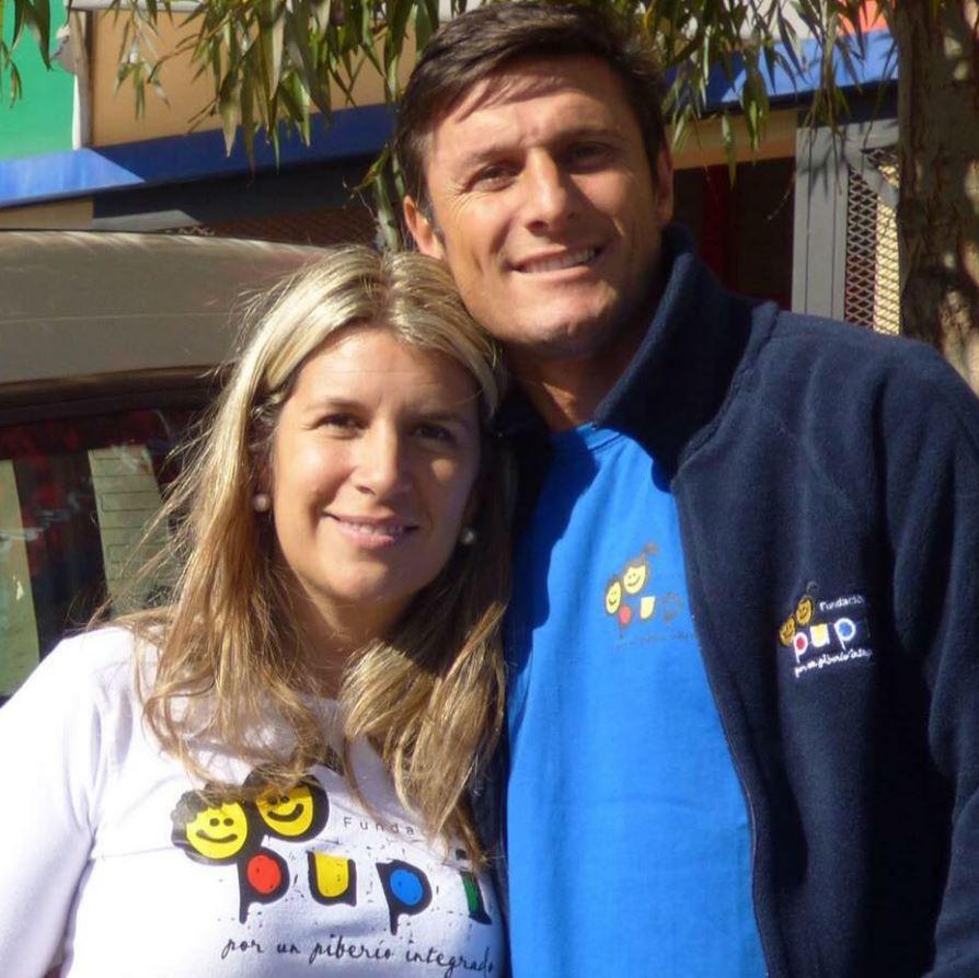 Javier Zanetti, chi è Paula, moglie del calciatore FOTO