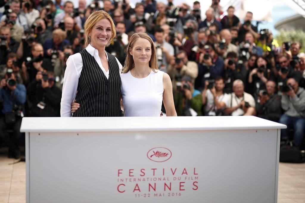 Julia Roberts e George Clooney a Cannes per Money Monster FOTO