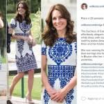 Kate Middleton: abito lungo o corto? Look a confronto FOTO