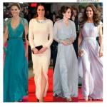 Kate Middleton in abito lungo: i look più chic FOTO