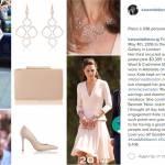 Kate Middleton, pastello mania: celeste e rosa riciclati FOTO