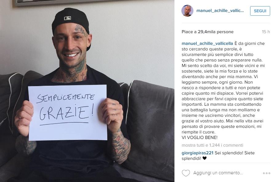 Manuel Vallicella rompe il silenzio dopo il no di Ludovica Valli