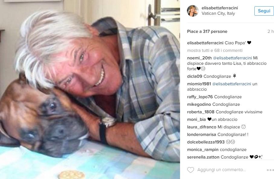 Mara Venier, morto Francesco Ferracini, suo primo marito FOTO