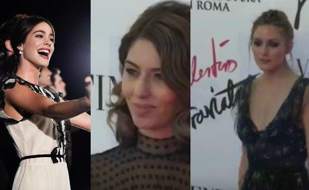 Martina Stoessel, Sofia Coppola, Olivia Palermo in Valentino FOTO