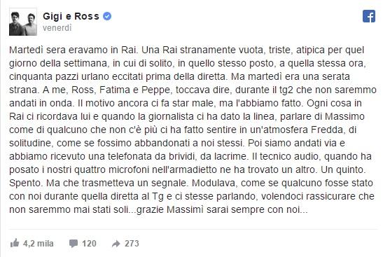 """Massimo Borrelli morto, storia da brividi: """"Il suo microfono..."""""""