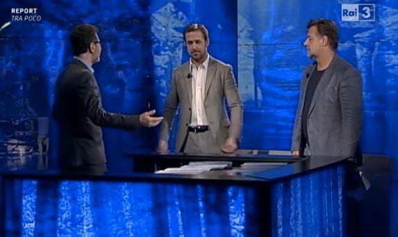 Russell Crowe e Ryan Gosling a Che Tempo Che Fa FOTO