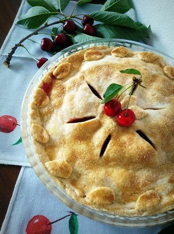 Cherry Pie: la tipica Torta di Ciliegie Americana