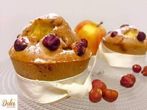 Muffin Mele e Nocciole senza burro