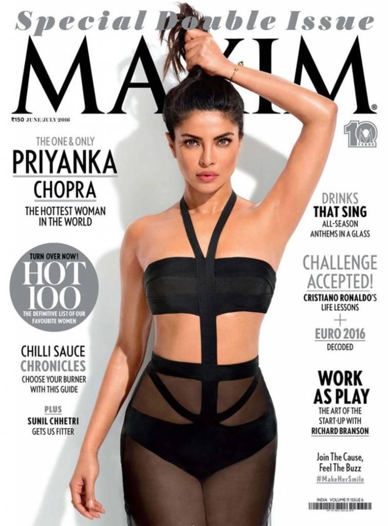 Ascella attrice Bollywood troppo perfetta su Maxim1