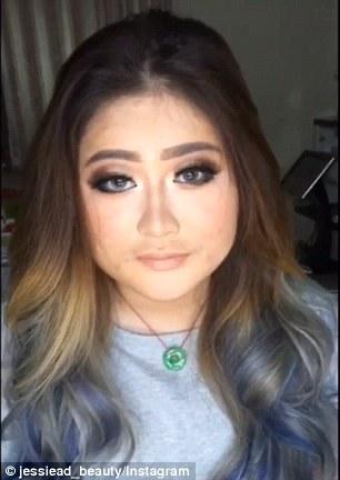 Jessie Adhistia, suo tutorial mostra come coprire l'acne6