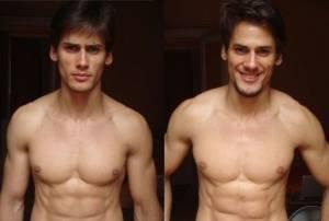 Marcio e Marcos Patriota, modelli gemelli brasiliani sfilano insieme6