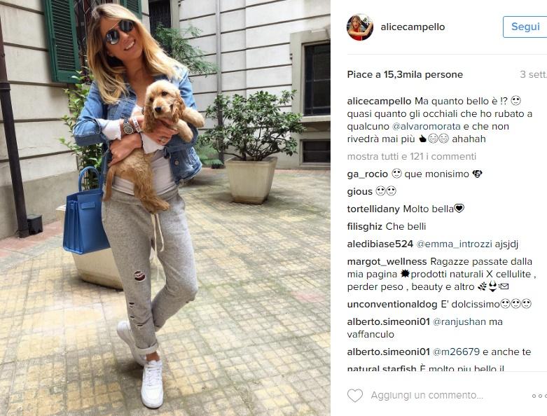 Alvaro Morata, chi è la fidanzata Alice Campello FOTO