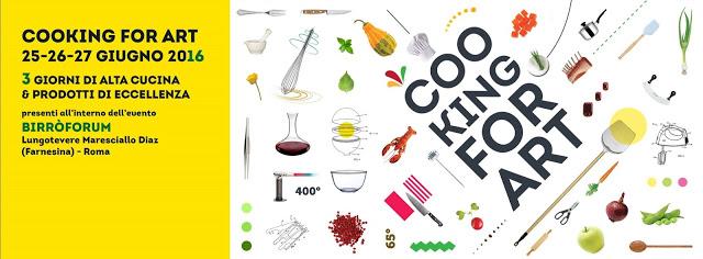 Cooking For Art: Premio Miglior Chef e Pizza Chef Emergente