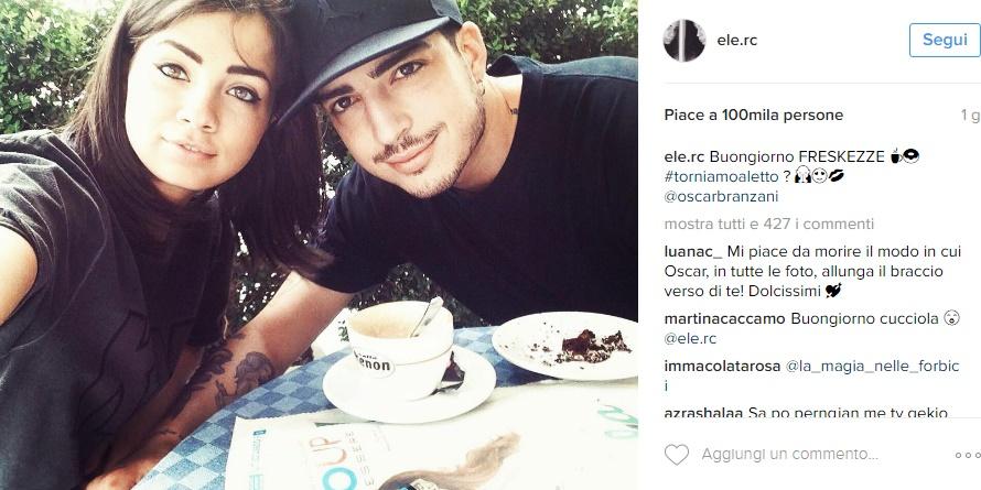 "Eleonora Rocchini: ""Io e Oscar Branzani viviamo insieme"" FOTO"