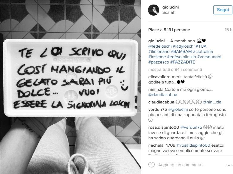 """Giorgia Lucini e Federico Loschi insieme: """"Sono pazza di te"""" FOTO"""