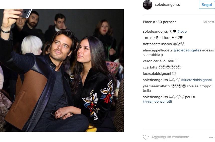 Giulio Berruti, chi è la fidanzata Maria Sole De Angelis FOTO