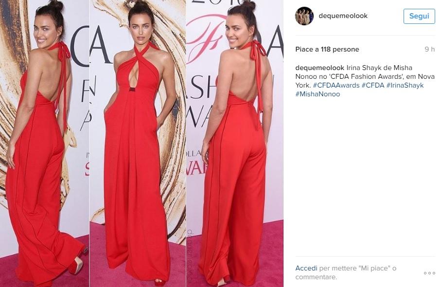 Irina Shayk, Selena Gomez: passione rosso FOTO