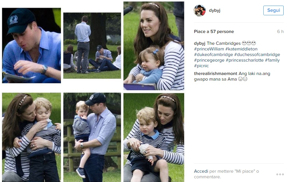 Kate Middleton casual look: t-shirt a righe e skinny FOTO