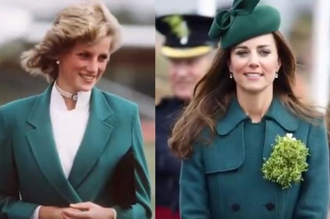 Kate Middleton: 15 look ispirati dalla principessa Diana FOTO