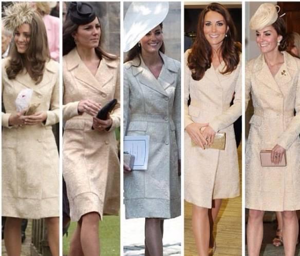 Kate Middleton look: abito e cappotto... di 10 anni fa FOTO